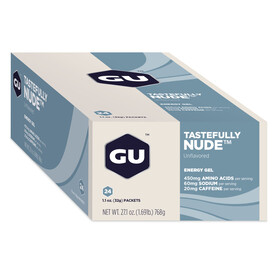 GU Energy Energy Gel Box Tastefully Nude 24x 32g